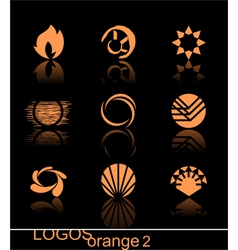Design elements - logos they are ideal for your de vector