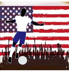 Football USA vector image