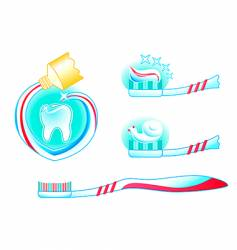Help your teeth be healthy vector