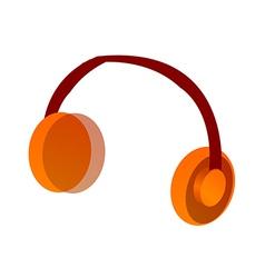 Icon headphone vector