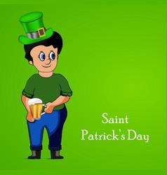 ireland festival st patricks day vector image