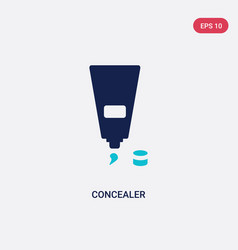 Two color concealer icon from beauty concept vector