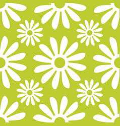 vintage floral seamless pattern seamless vector image