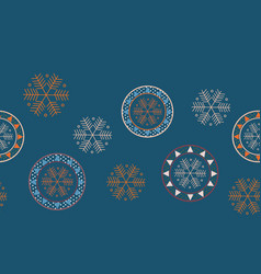 christmas concept seamless pattern vector image vector image