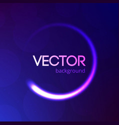 blue abstract background with bokeh and glitter vector image vector image