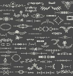 FloralBorders vector image