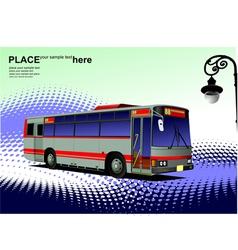 al 0542 city bus 02 vector image