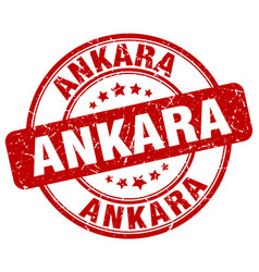 Ankara stamp vector