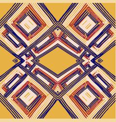 geometric romb print in vector image