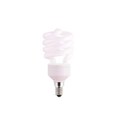 light bulb realistic isolated vector image