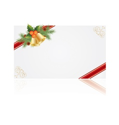 christmas frames for creating greeting cards vector image vector image