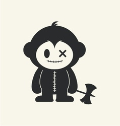 Monkeystein 2 vector image