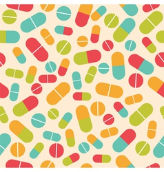 Pills collection Medical pills and capsules vector image vector image