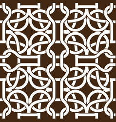 Abstract celtic knot seamless pattern ornament 02 vector