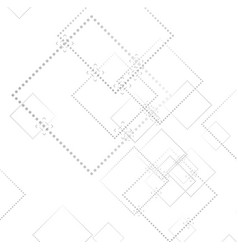 Abstract grey geometric tech background vector