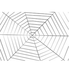 Big spider web background for halloween vector