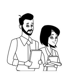 Business team coworker vector