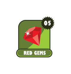 game asset menu layer - video game icon sign vector image