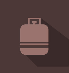 gas bottle icon vector image