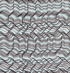 Geometric striped seamless pattern Repeating vector