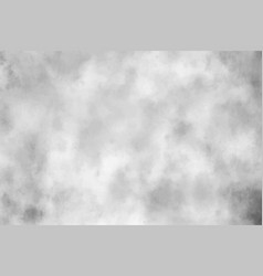 Grey watercolor paper or concrete grunge vector