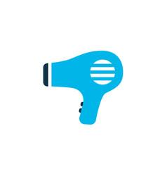 hairdryer icon colored symbol premium quality vector image