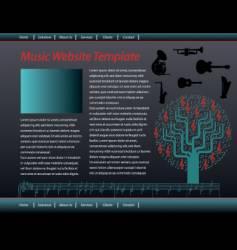 Music web vector
