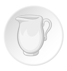 Pitcher icon cartoon style vector