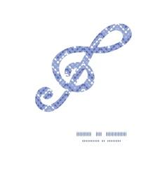 purple drops chevron gclef musical vector image
