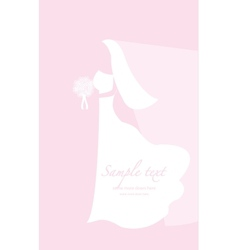 Soft wedding background vector image