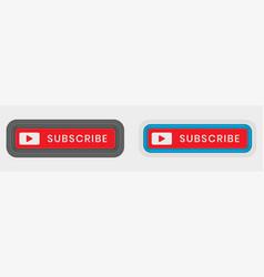 Subscribe button icon vector