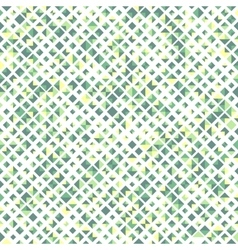 Green color seamless pattern with rhombuses vector image vector image