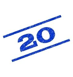 20 Watermark Stamp vector