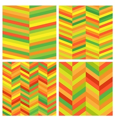 Abstract Geometric Seamless Pattern Set Modern vector