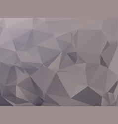 Abstract triangular graphite gray background vector