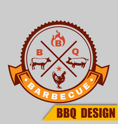 Bbq logo barbecue image vector