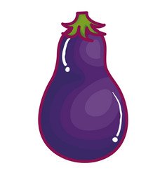 Beet fresh vegetable icon vector