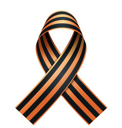 George ribbon memory symbol russian victory day vector