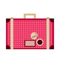 Icon suitcase vector