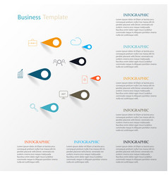 infographicicons and signs eps1 vector image