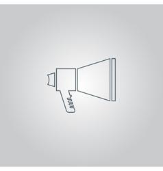 Megaphone symbol vector