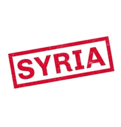 Syria rubber stamp vector image