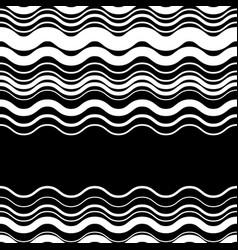 wavy zig-zag horizontal parallel lines abstract vector image