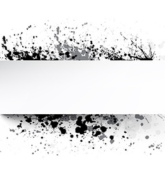 White background with grunge vector