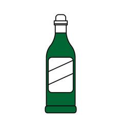 Wine bottle icon image vector