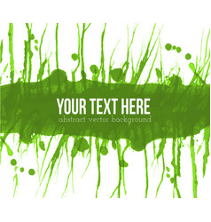 abstract green grunge background with place for vector image