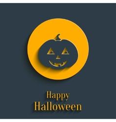 Happy Halloween Card vector image