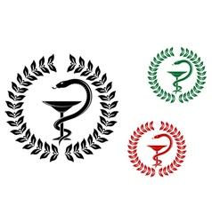 Medicine symbol vector
