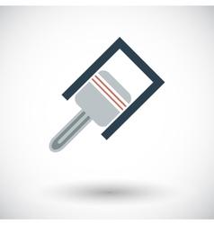 Piston icon vector image vector image