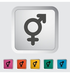 Bisexuals sign vector